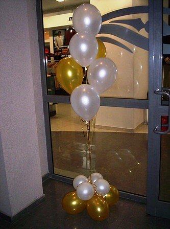 Напольные стойки из шаров