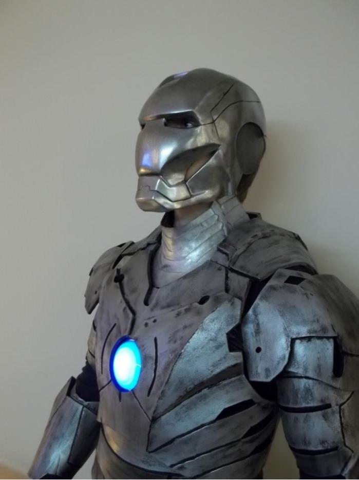 Костюм железного человека из металла своими руками