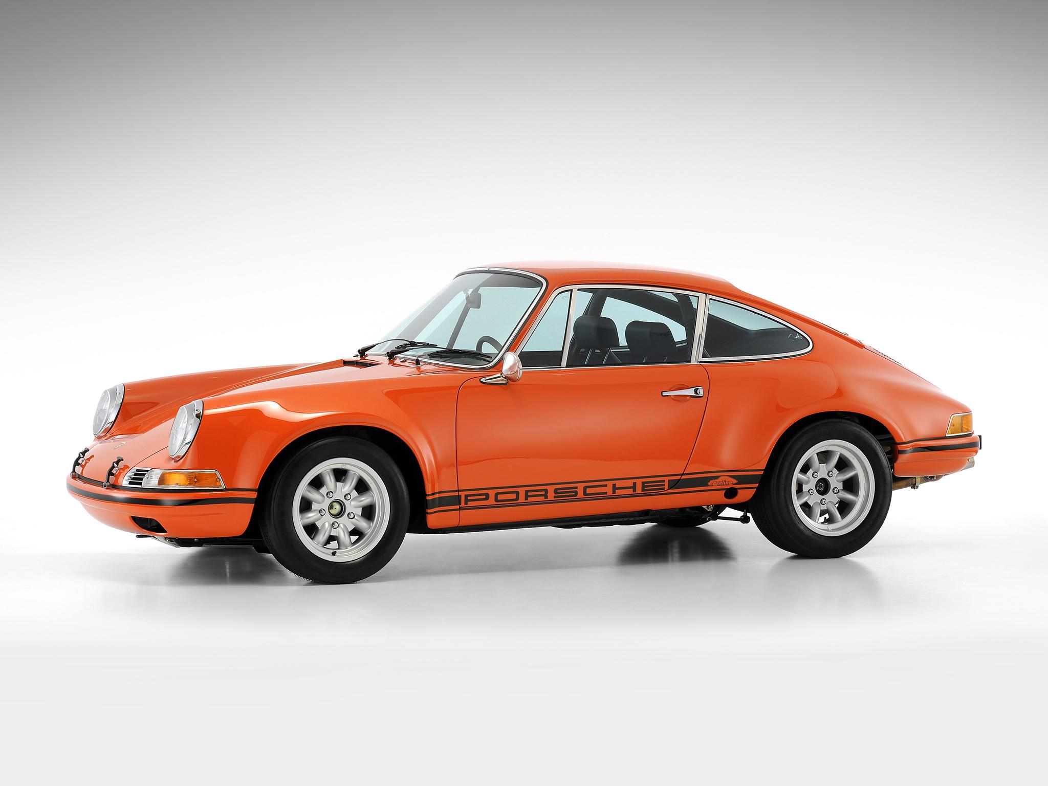 Оранжевый автомобиль porsche carrera  № 837091 бесплатно