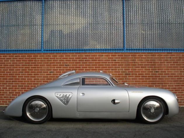 Porsche 356 Silver Bullet (Серебряная Пуля)