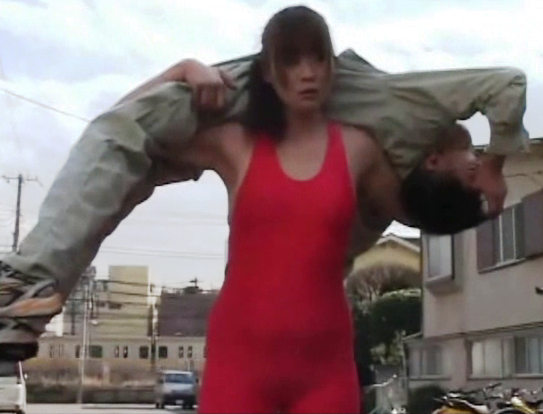 Tall Woman Lift and Carry