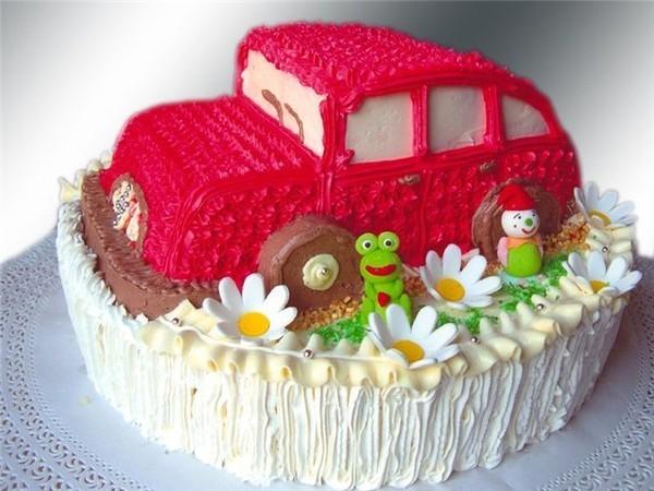 Картинки про торт из машины