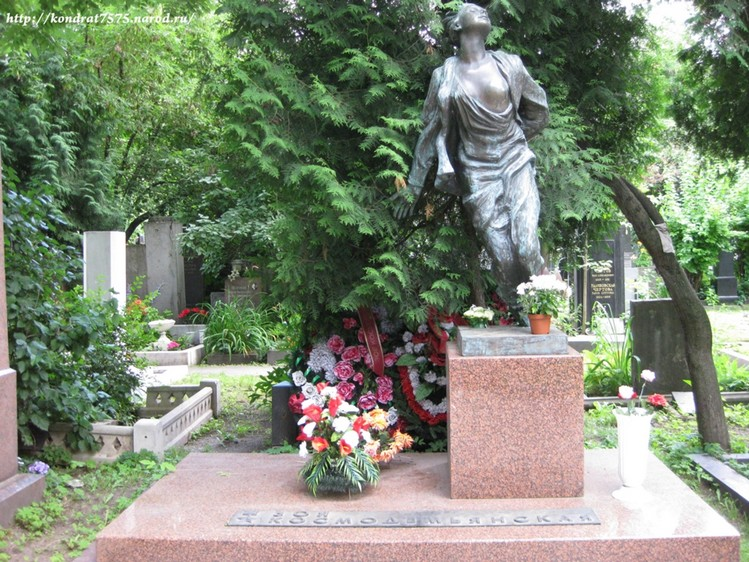 Новодевичье кладбище. Могилы известных людей в Москве