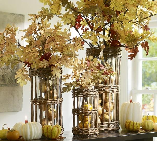 Осенний декор - Ярмарка Мастеров - ручная работа, handmade
