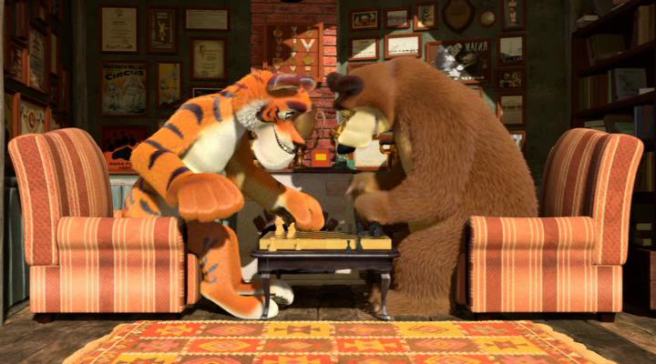 Маша и медведь. 28-29 серии (2012) DVDRip