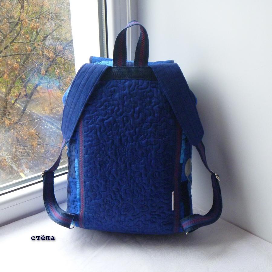 Эргономичный рюкзак как сшить мастер класс сделать #10