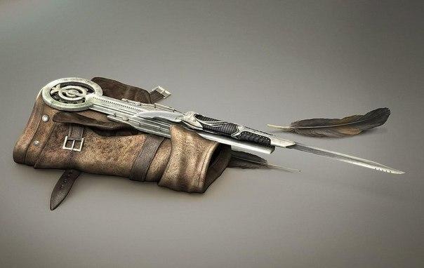 скрытый клинок -традиционное оружие ассасина.