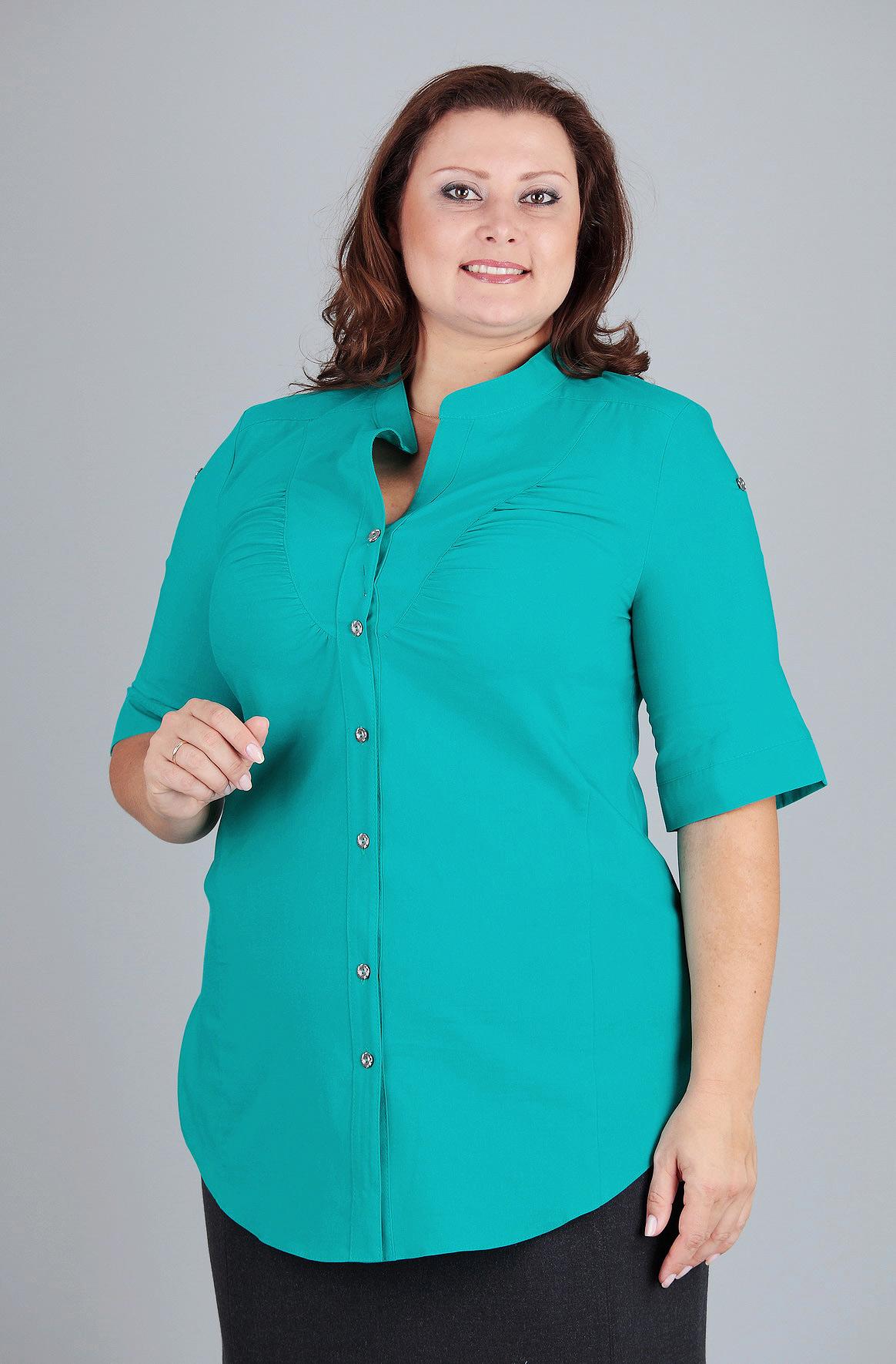 Женские Блузки Для Полных Купить