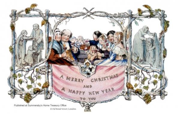 Первые в мире открытки