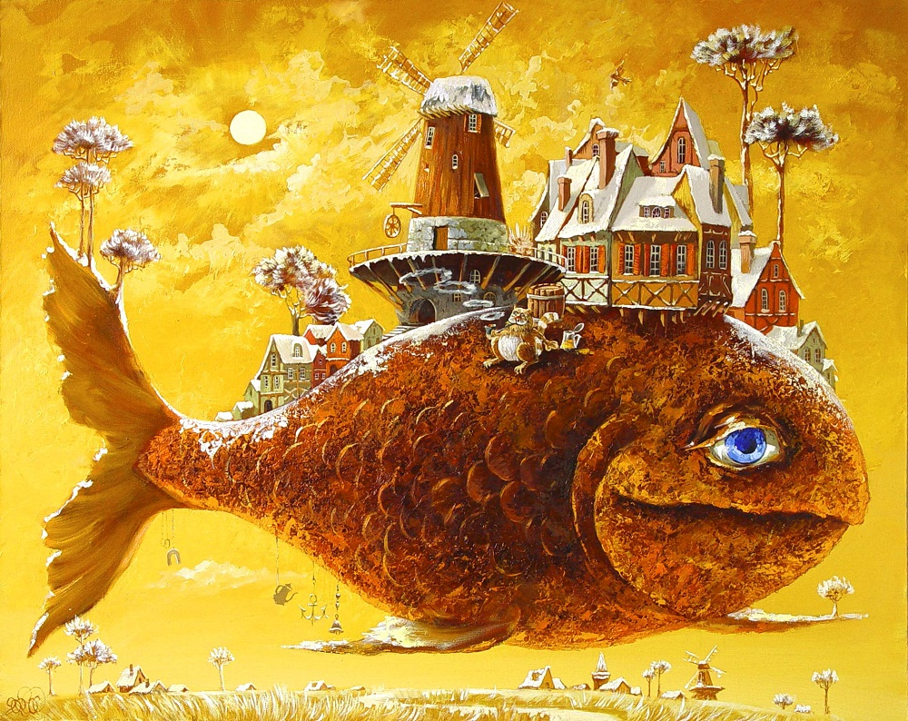 Сказочная рыба картинки 1