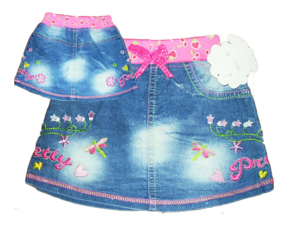 Сшить юбку своими руками девочке 1 год