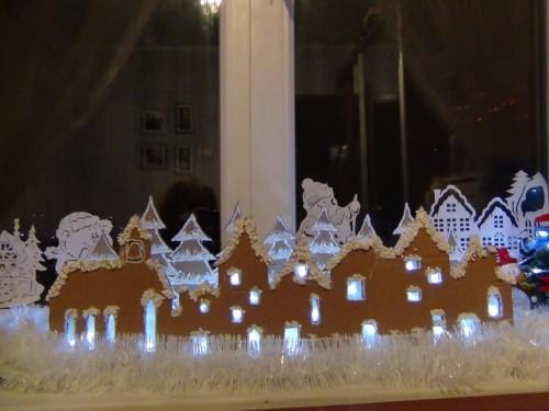 Новогодний декор на окна