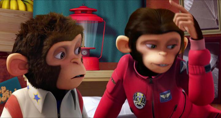 Мартышки в космосе: Ответный удар / Space Chimps 2: Zartog Strikes Back (2010) HDRip