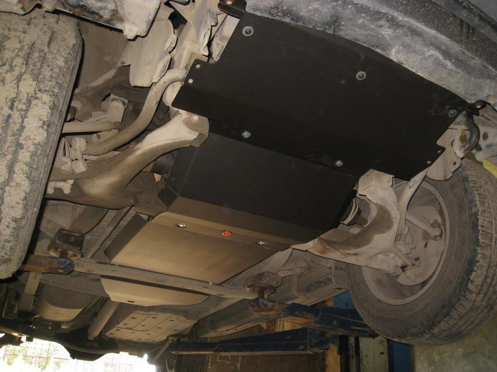 Защита Hyundai Terracan (4 части) двиг.  2.5.
