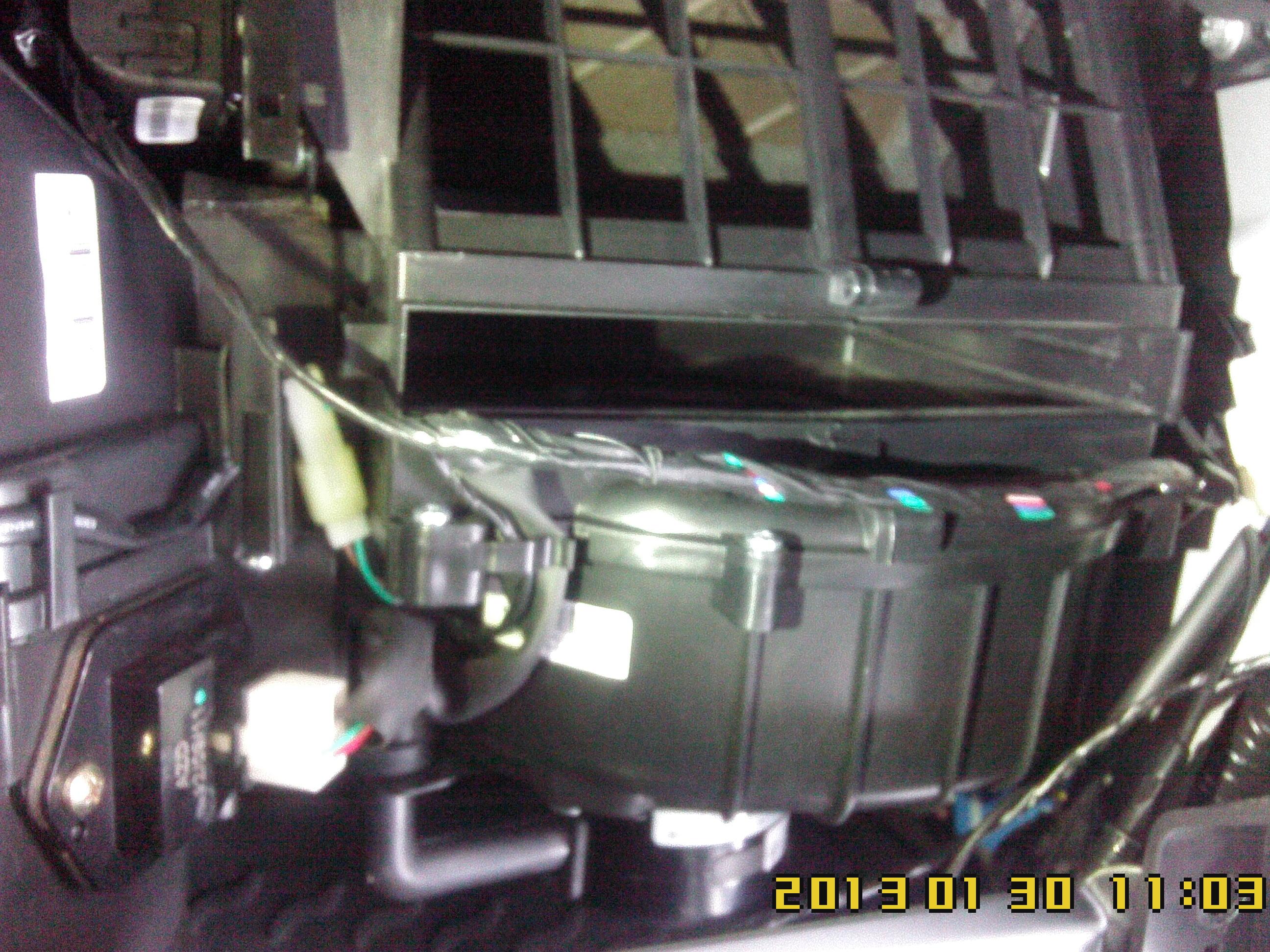 Замена воздушного фильтра киа спортейдж 3 своими руками