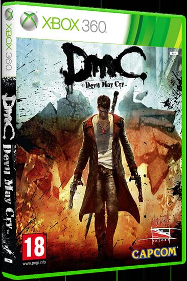 DMC: Devil May Cry (2012) [Region Free / RUS] [лицензия] (XGD3 / LT+2.0)
