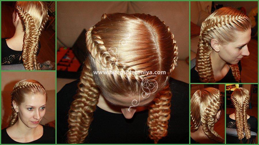 прически на первое сентября 10 класс на длинные волосы