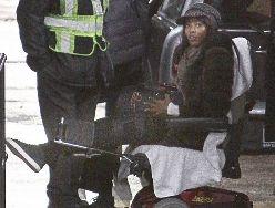 Кэмпбелл находится в инвалидном кресле после ограбления в Париже