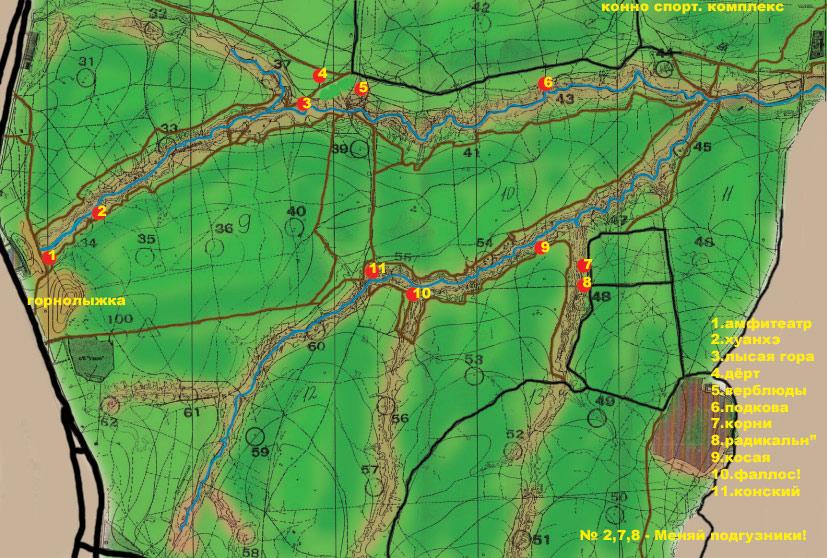 Битцевский парк: места катания