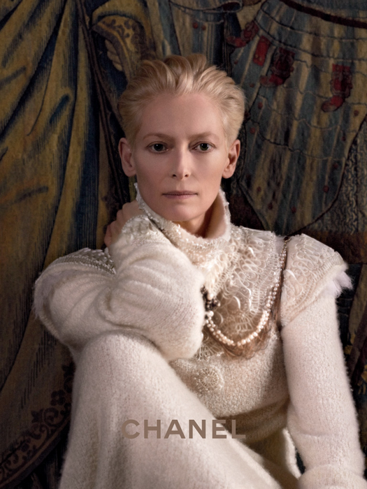 ONTD's fave Tilda Swinton is the new face of CHANEL <3