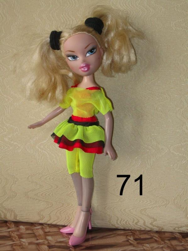 Повседневная одежда для кукол Bratz в ассортименте. 28, 33, 38 - 20 грн Од
