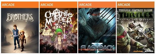 Microsoft обнародовала детали акции Лето Аркад 2013 | дата выхода бесплатно arcade