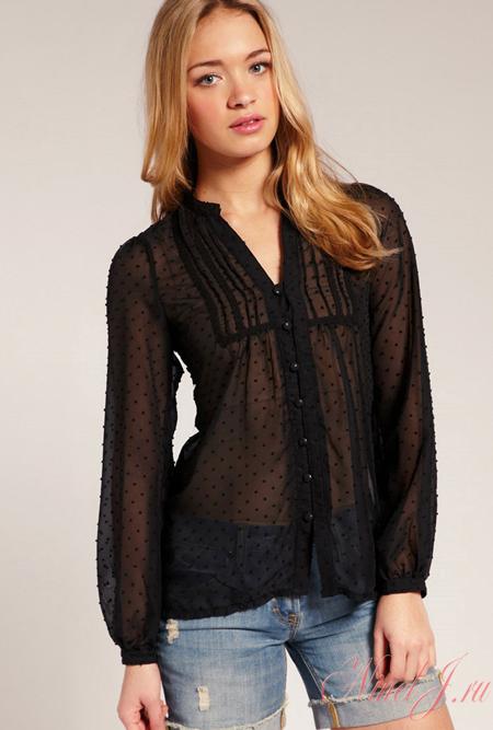 Модные Трикотажные Блузки В Спб