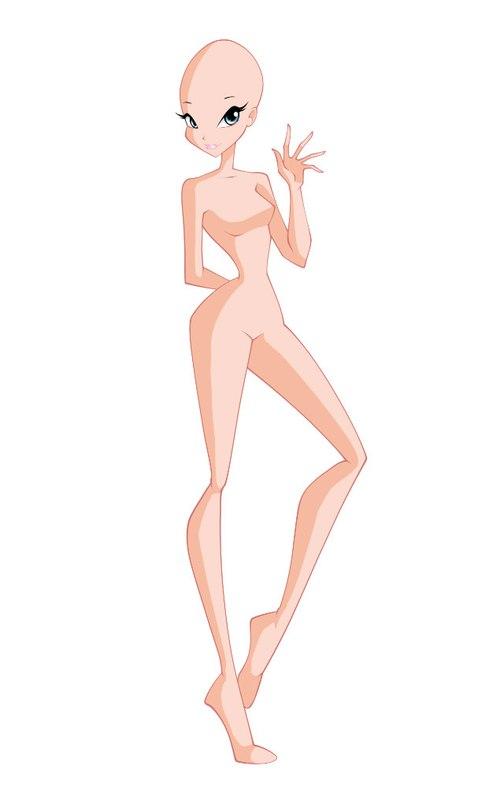 фигурки картинки манекен для рисования винкс рулят, бабка