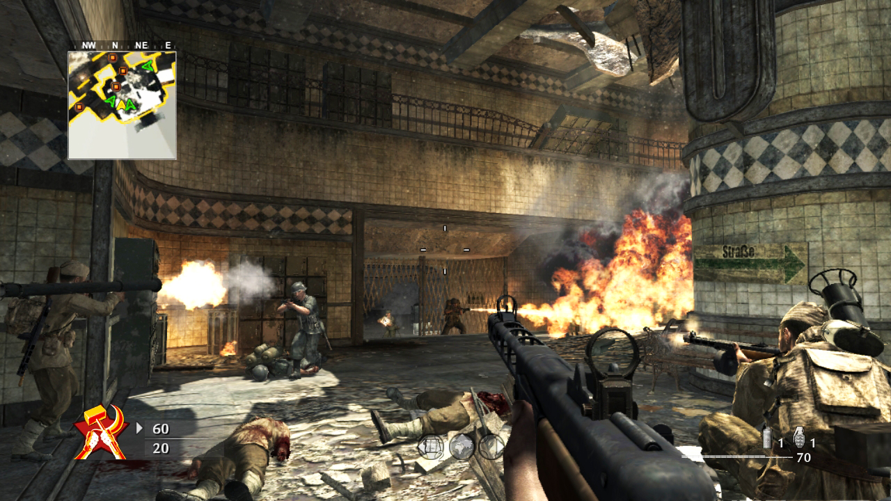 call of duty world at war - 1280×720