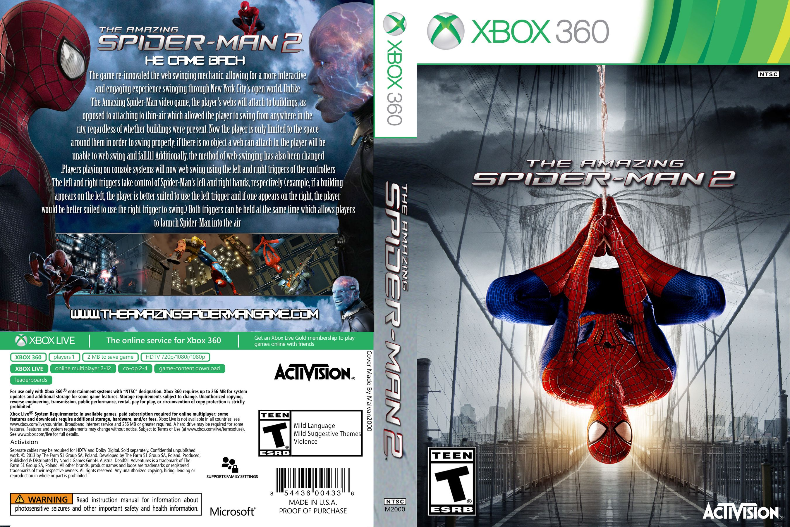 The Amazing Spider-Man 2 cover usa.jpg